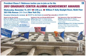 GOLD Award <br> CUNY Graduate Center <br>New York, NY