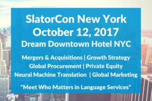 SlatorCon <br>  New York, NY